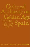 Cultural Authority in Golden Age Spain