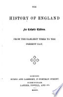 The History of England for Catholic Children