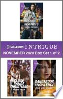Harlequin Intrigue November 2020   Box Set 1 of 2