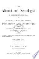 Alienist and Neurologist