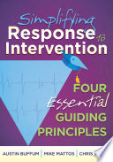 Simplifying Response To Intervention Book PDF