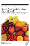 Recent Advances in Food and Flavor Chemistry Book