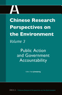 Chinese Research Perspectives on the Environment  Volume 3