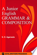 A Junior English Grammar And Composition