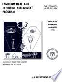Environmental and Resource Assessment Program