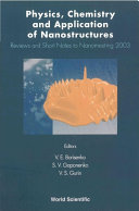 Physics  Chemistry  and Application of Nanostructures