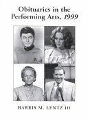 Obituaries in the Performing Arts  1999