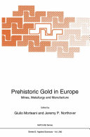 Pdf Prehistoric Gold in Europe Telecharger