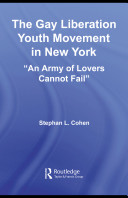 The Gay Liberation Youth Movement in New York