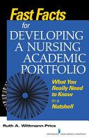 Fast Facts for Developing a Nursing Academic Portfolio Pdf/ePub eBook