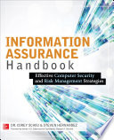 Information Assurance Handbook Effective Computer Security And Risk Management Strategies Book PDF