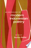 Modern Indonesian Poetry