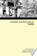 Recovery and Recycling of Paper Book
