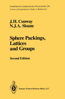 Sphere Packings  Lattices and Groups