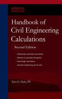 Handbook Of Civil Engineering Calculations Second Edition Book PDF