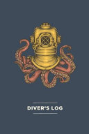 Scuba Diver Log Book with Vintage Octopus Cover   Track   Record 100  Dives