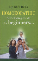 Homoeopathic Self Guide For Beginners