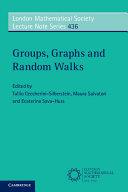 Groups, Graphs and Random Walks