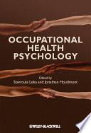 Occupational Health Psychology