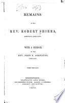 Remains of the Rev. Robert Shirra, Linktown, Kirkcaldy