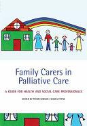 Family Carers In Palliative Care Book PDF
