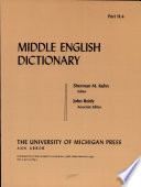 Read Online Middle English Dictionary For Free