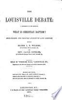 The Louisville Debate