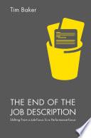 The End of the Job Description Book
