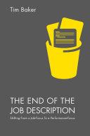 The End of the Job Description