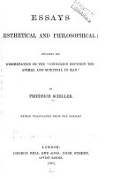 Essays Sthetical And Philosophical