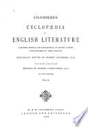 Chambers S Cyclop Dia Of English Literature Book PDF