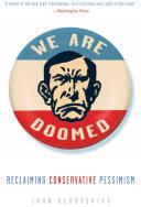 Pdf We Are Doomed