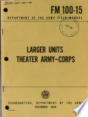 Larger Units, Theater Army-corps
