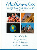 Mathematics in Life  Society   the World