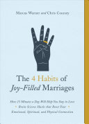 The 4 Habits of Joy-Filled Marriages Pdf/ePub eBook