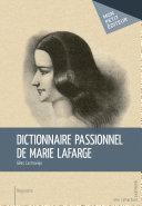 Pdf Dictionnaire passionnel de Marie Lafarge Telecharger