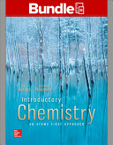 Package  Loose Leaf Introductory Chemistry   An Atoms First Approach with Connect 1 semester Access Card Book