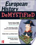 European History DeMYSTiFieD