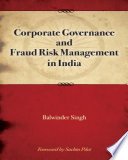 Corporate Governance & Fraud Risk Management