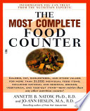 The Most Complete Food Counter