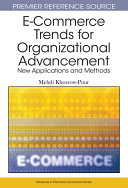E Commerce Trends for Organizational Advancement  New Applications and Methods