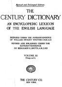 The Century Dictionary