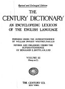 Pdf The Century Dictionary