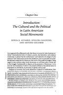Cultures of politics, politics of cultures