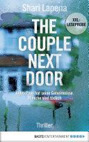XXL Leseprobe  The Couple Next Door Book