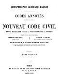 Les Codes AnnotésNouveau code civil