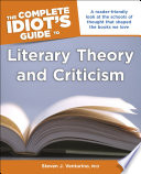 The Complete Idiot S Guide To Literary Theory And Criticism