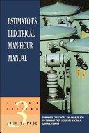 Estimator s Electrical Man Hour Manual
