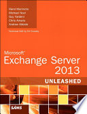 Microsoft Exchange Server 2013 Unleashed Book