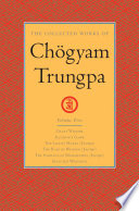 The Collected Works of Chogyam Trungpa  Volume Five Book